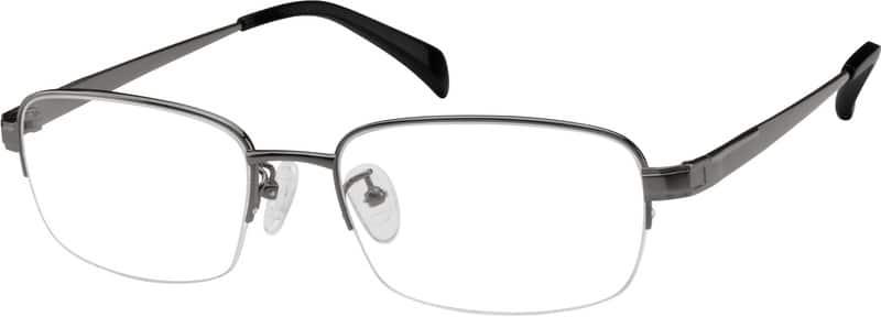 MenHalf RimTitaniumEyeglasses #577512