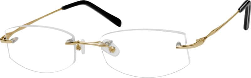 Women Rimless Titanium Eyeglasses #578814