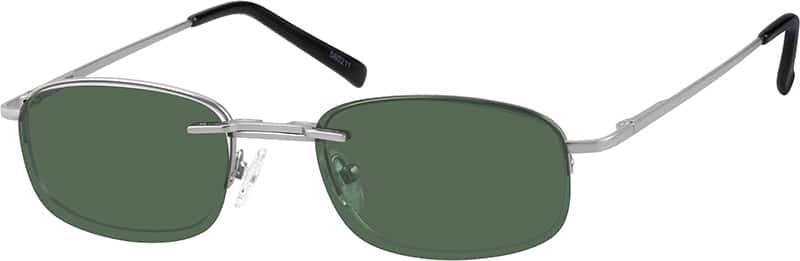 580211-metal-alloy-spring-hinge-half-rim-frame-with-polarized-magnetic-snap-on-sunlens