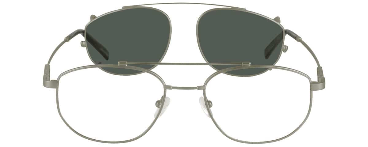 Men Full Rim Memory Titanium Eyeglasses #580411