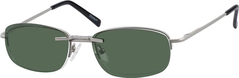 583211-metal-alloy-spring-hinge-half-rim-frame-with-polarized-magnetic-snap-on-sunlens