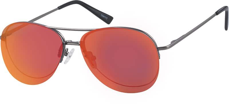 halfrim-stainless-steel-aviator-eyeglass-frames-584112