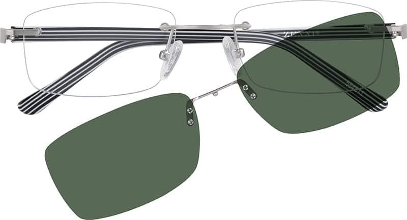 MenRimlessMixed MaterialsEyeglasses #584521