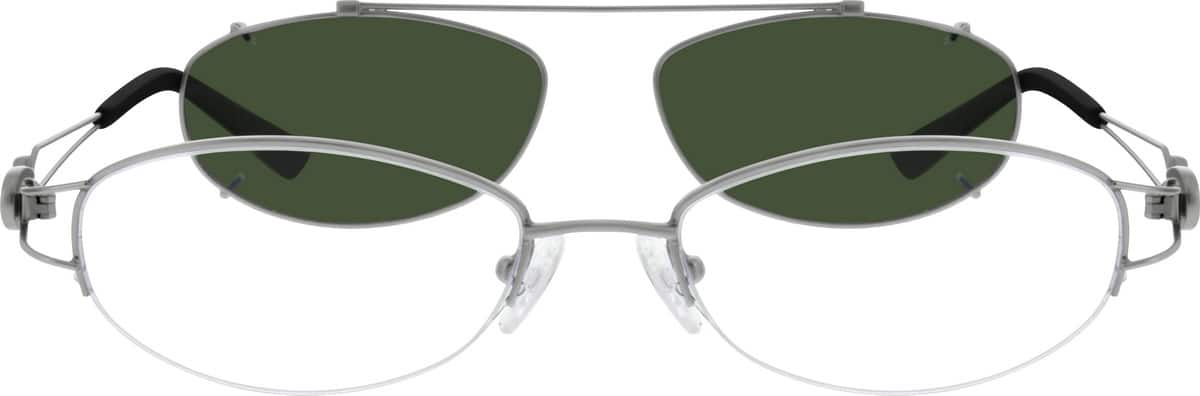 womens-halfrim-stainless-steel-oval-eyeglass-frames-585111