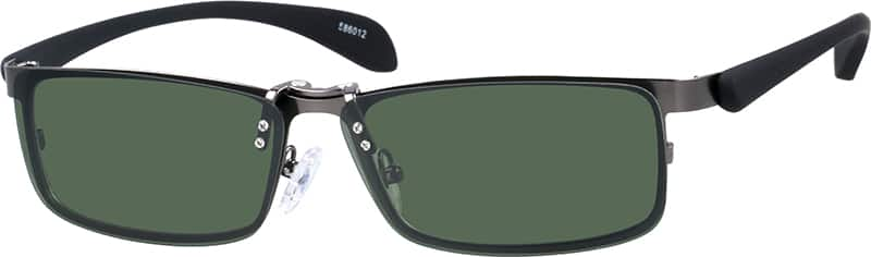 586012-stainless-steel-full-rim-frame-with-polarized-magnetic-snap-on-sunlens-and-flexible-plastic-temples