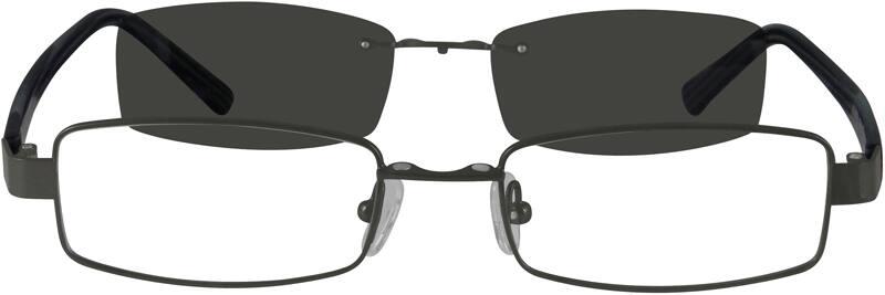 MenFull RimMixed MaterialsEyeglasses #586921