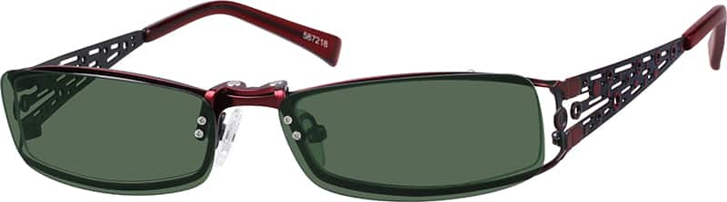 587218-stainless-steel-full-rim-frame-with-polarized-magnetic-snap-on-sunlens