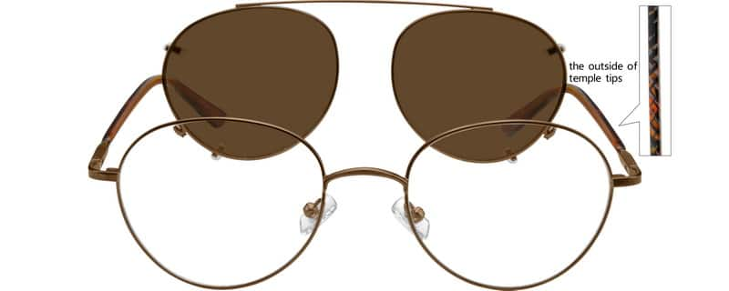 MenFull RimMixed MaterialsEyeglasses #589012