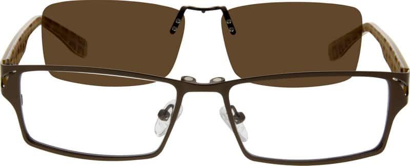 MenFull RimMixed MaterialsEyeglasses #589215