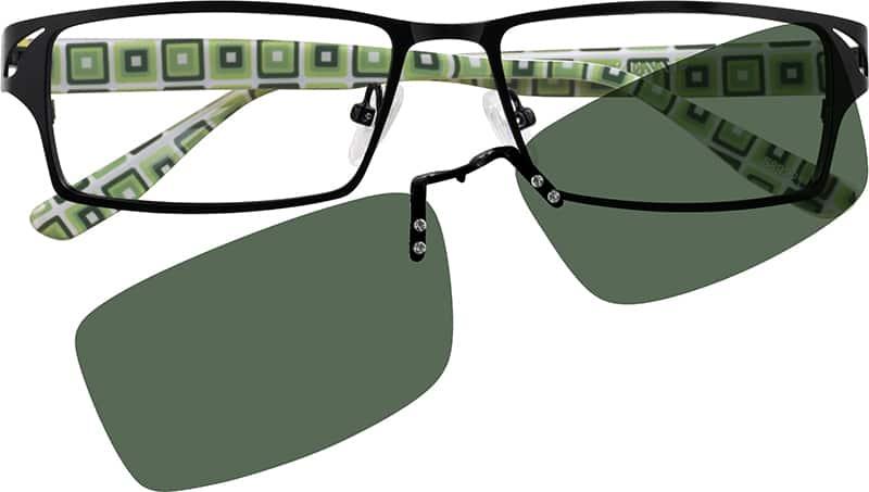 MenFull RimMixed MaterialsEyeglasses #589221