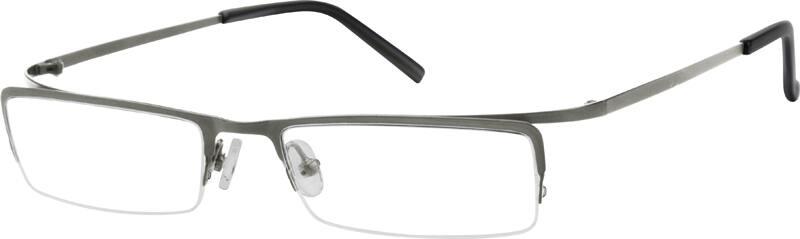 MenHalf RimStainless SteelEyeglasses #590112
