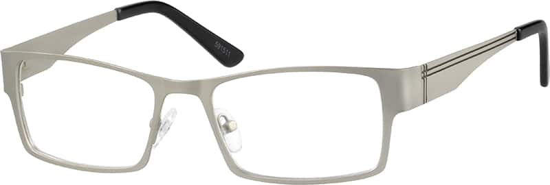 Stainless Steel Full-rim Frame with Spring Hinge