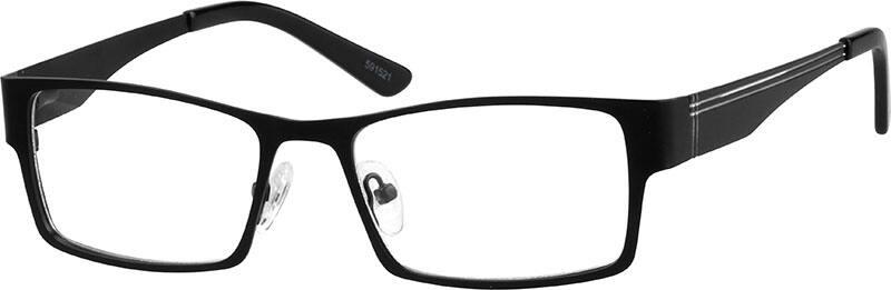 MenFull RimStainless SteelEyeglasses #591521