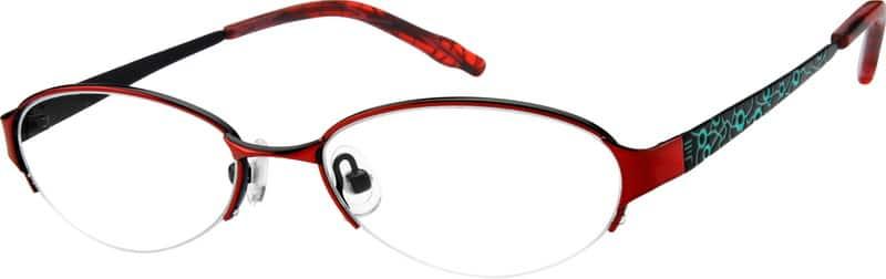 GirlHalf RimEyeglasses #594718