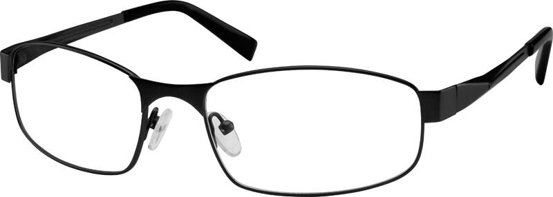 Men Full Rim Stainless Steel Eyeglasses #596415
