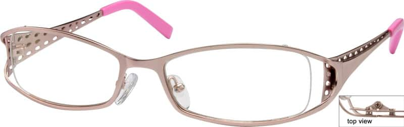 Women Full Rim Metal Eyeglasses #598419