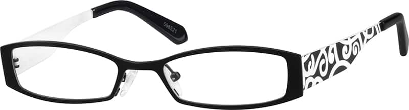 Girl Full Rim Stainless Steel Eyeglasses #598521
