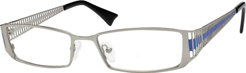 MenFull RimStainless SteelEyeglasses #598721