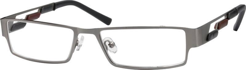 MenFull RimStainless SteelEyeglasses #599111