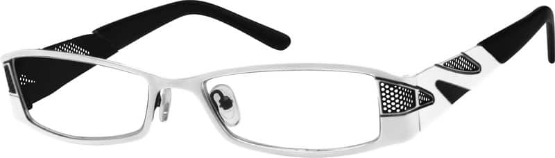 Women Full Rim Stainless Steel Eyeglasses #599630