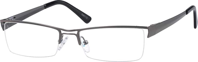 599712-stainless-steel-half-rim-frame-with-double-bar-bridge