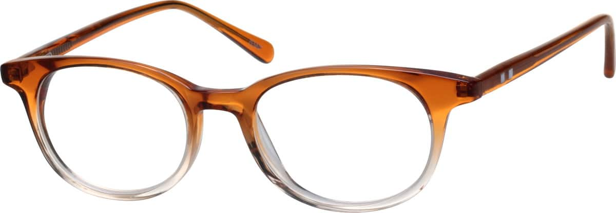 UnisexFull RimAcetate/PlasticEyeglasses #600012