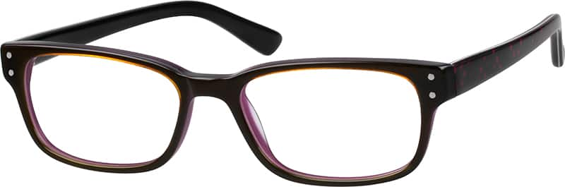 Women Full Rim Acetate/Plastic Eyeglasses #601519