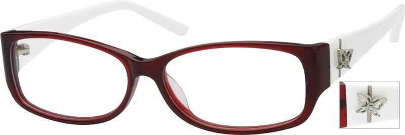WomenFull RimAcetate/PlasticEyeglasses #602218