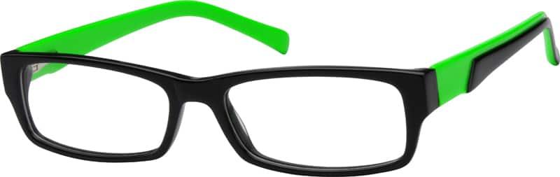 UnisexFull RimAcetate/PlasticEyeglasses #604324