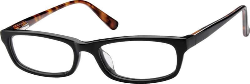 Black6048 Children's Acetate Full-Rim Frame