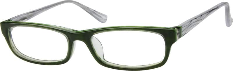 Green 6048 Children's Acetate Full-Rim Frame