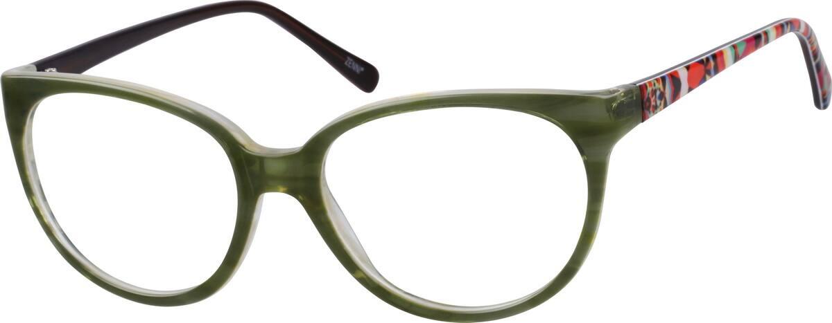 WomenFull RimAcetate/PlasticEyeglasses #605024
