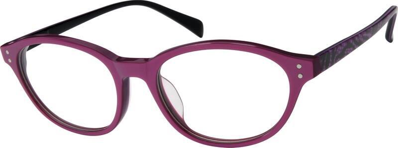 WomenFull RimAcetate/PlasticEyeglasses #606324