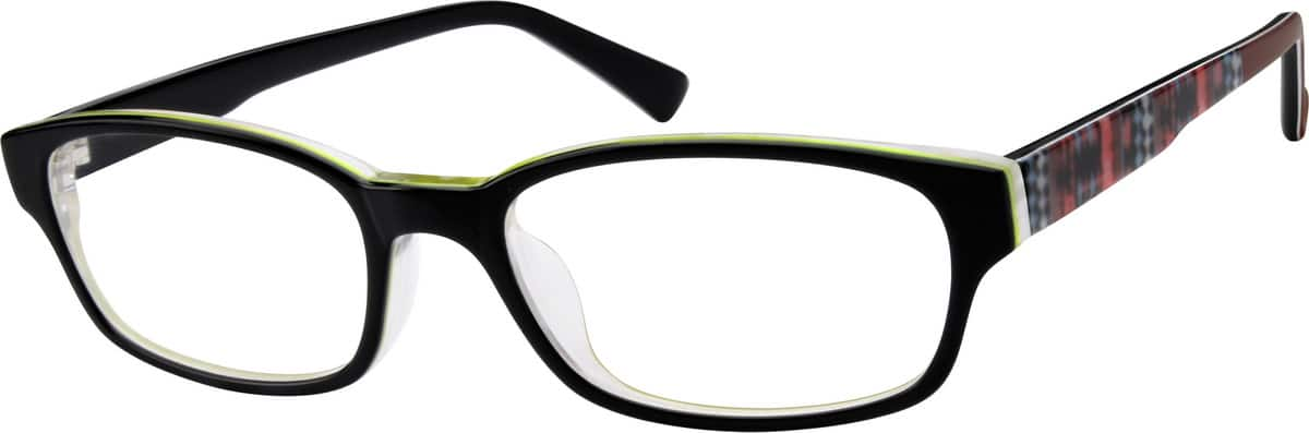 Women Full Rim Acetate/Plastic Eyeglasses #606421