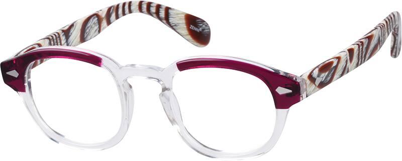 WomenFull RimAcetate/PlasticEyeglasses #606521