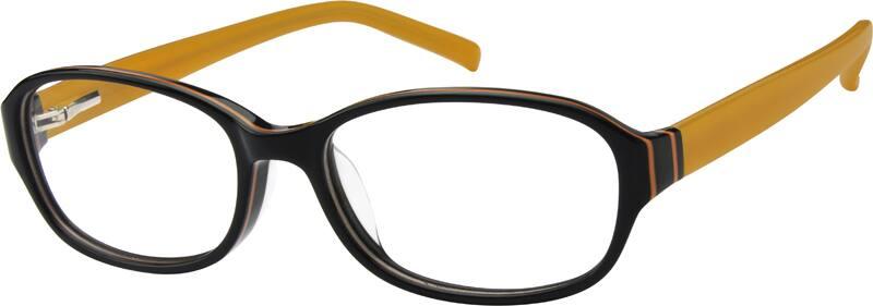 WomenFull RimAcetate/PlasticEyeglasses #606630