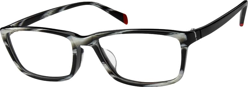 Men Full Rim Acetate/Plastic Eyeglasses #607825