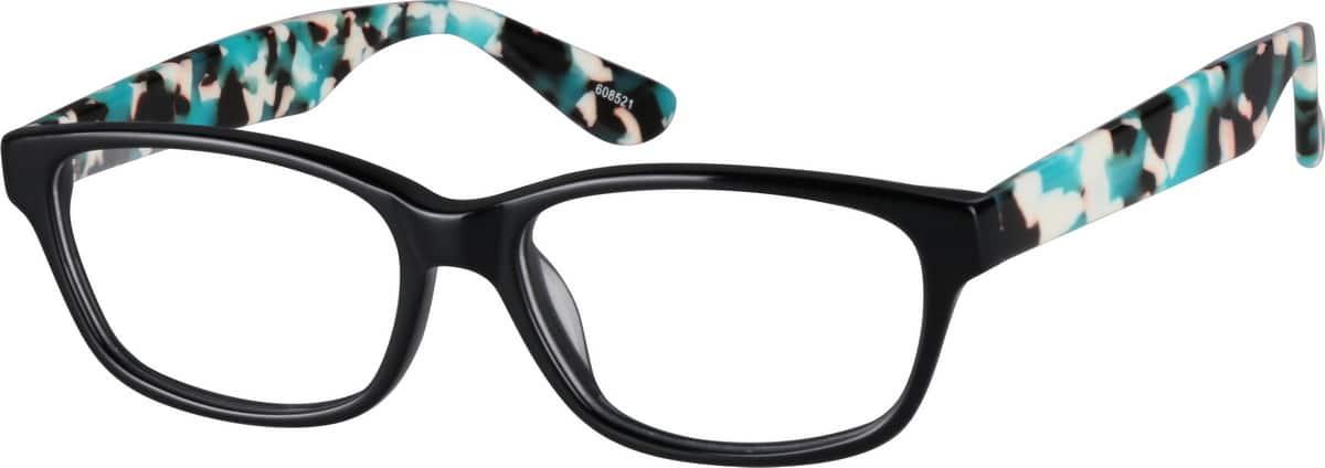 UnisexFull RimAcetate/PlasticEyeglasses #608521