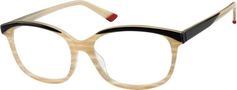 Women Full Rim Acetate/Plastic Eyeglasses #609032