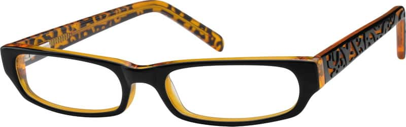 Girl Full Rim Acetate/Plastic Eyeglasses #611371