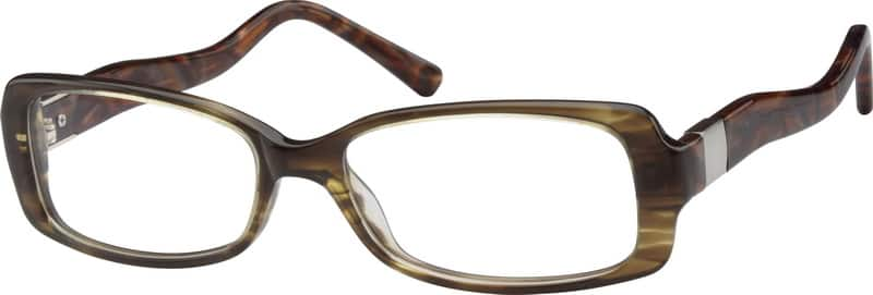 611415-acetate-full-rim-frame-with-design-on-temples