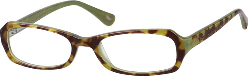 611625-acetate-full-rim-frame-with-design-on-temples