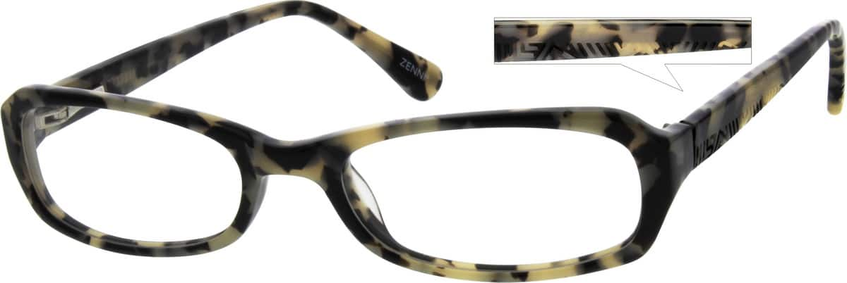 Women Full Rim Acetate/Plastic Eyeglasses #611625