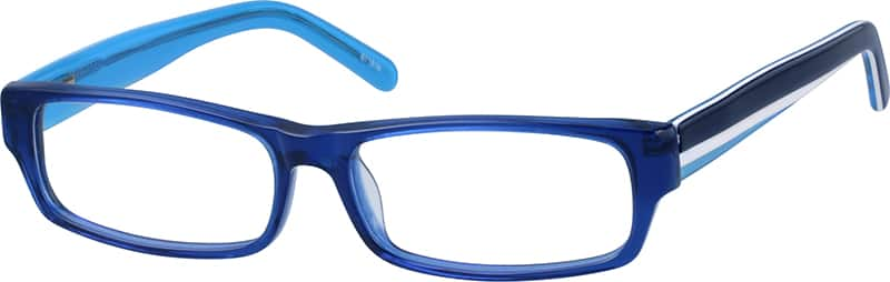 Full Rim Acetate Frames with Design on Temples