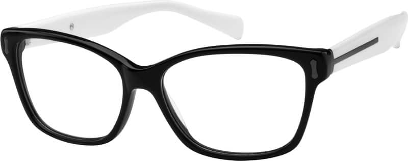 UnisexFull RimAcetate/PlasticEyeglasses #612230