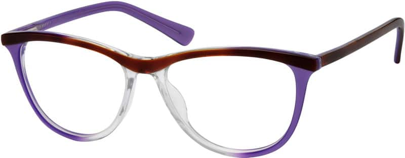 Women Full Rim Acetate/Plastic Eyeglasses #612416