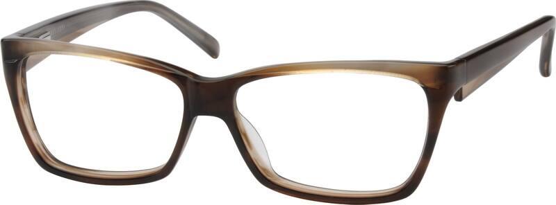 UnisexFull RimAcetate/PlasticEyeglasses #612724