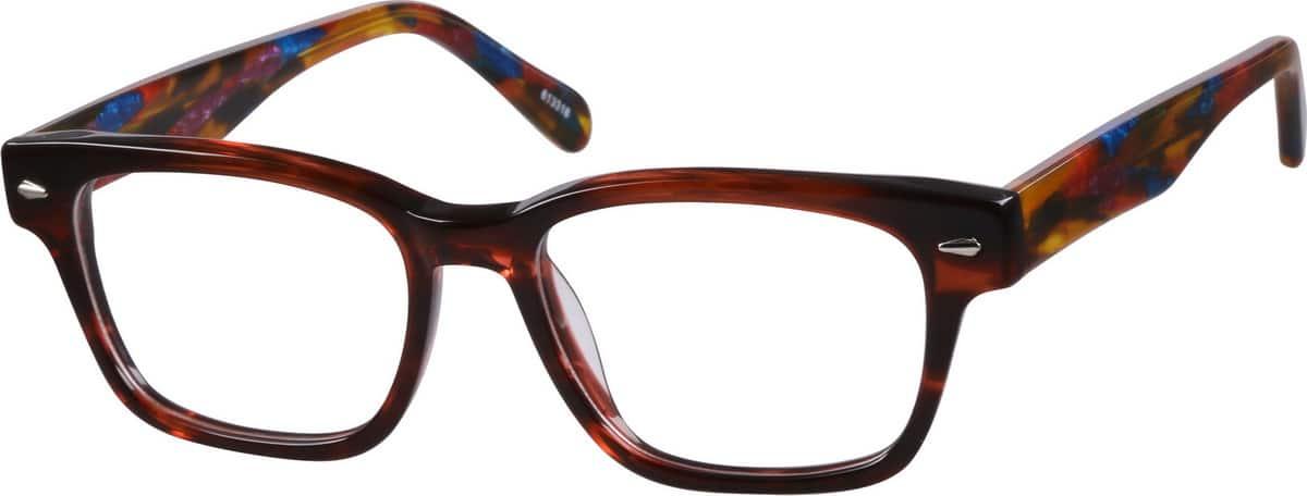 WomenFull RimAcetate/PlasticEyeglasses #613318