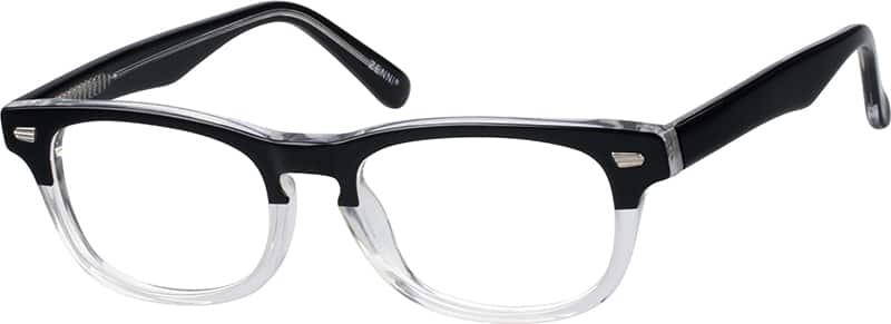 UnisexFull RimAcetate/PlasticEyeglasses #614212