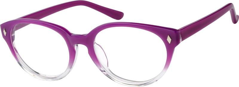 WomenFull RimAcetate/PlasticEyeglasses #614917